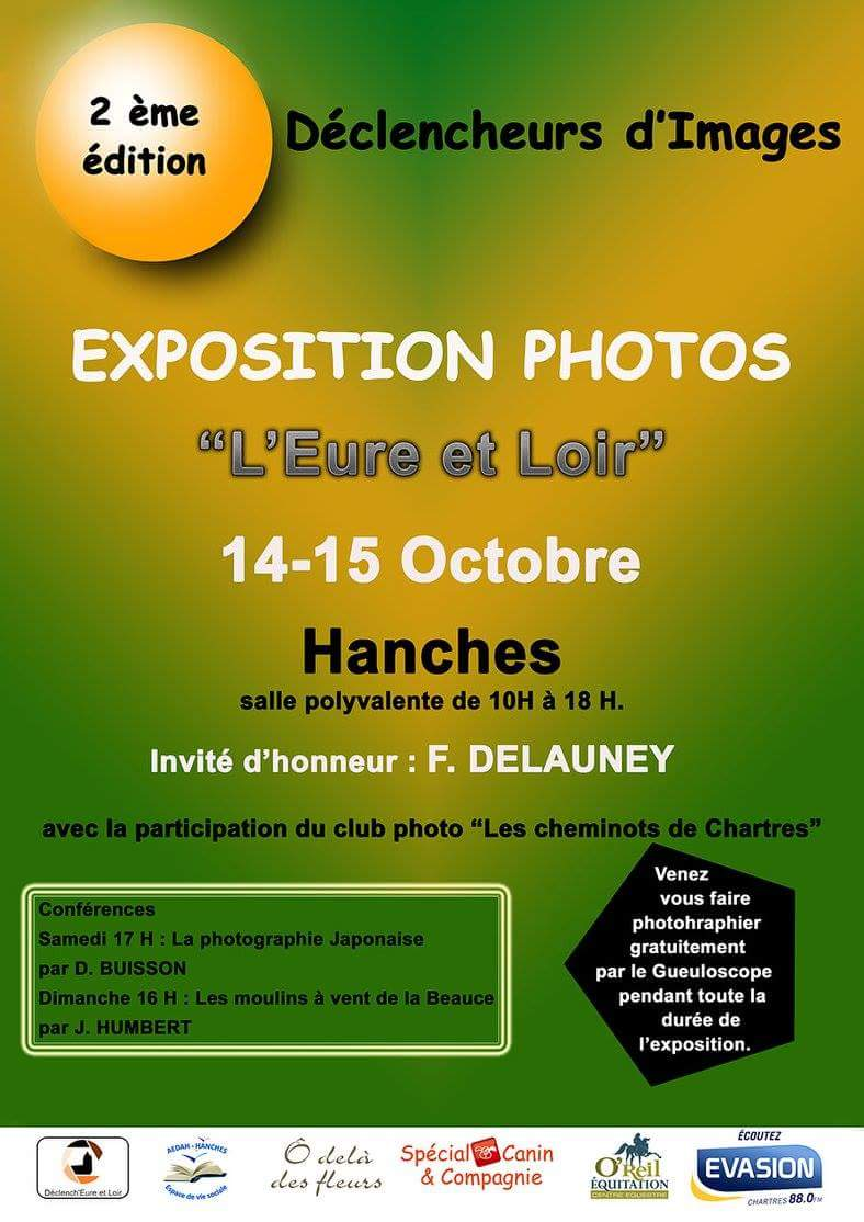Expo Photo Hanches du 14-15 octobre