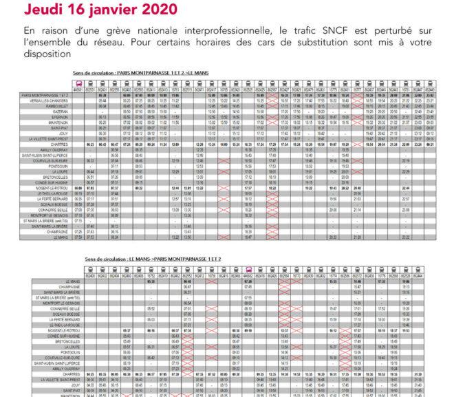 Mouvement Social du 16 janvier 2020