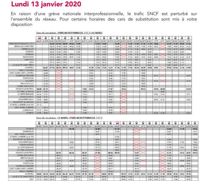 Mouvement Social du 13 janvier 2020